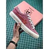 Golf Le Fleur X Converse Pin Flower Fashion Shoes