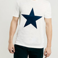 CORE ECRU STAR APP T-SHIRT - New This Week - New In