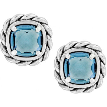 Brighton Joyful Post Earrings-Blue