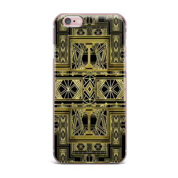 "Nika Martinez ""Golden Art Deco"" iPhone Case"