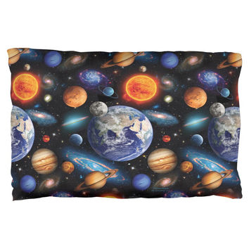 Galaxy Solar System Pillow Case