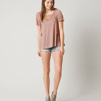 COCO + JAIMESON SLUB FABRIC TOP
