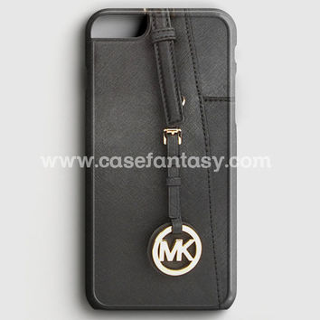 Michael Kors Mk Bag Black Gold iPhone 6/6S Case | casefantasy