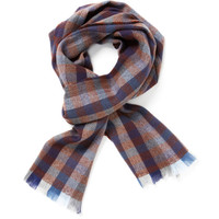 Plaid Scarf by Hans Kristoff at Gilt