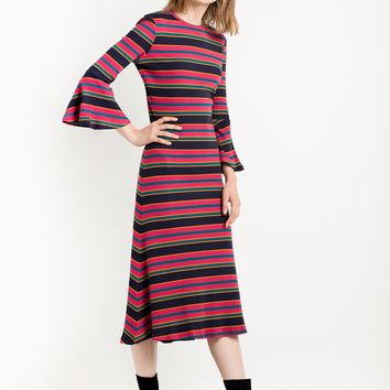 The Other Side Knit Dress by The Fifth