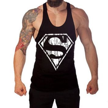 Men Singlets Jersey Slim Fit Cotton Low Cut Tank Tops Male Bodybuilding Clothing Vest Tops Undershirt Good Quality