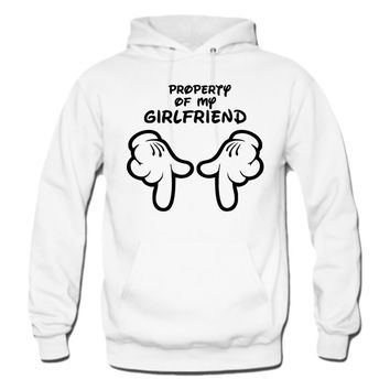 property of my girlfriend hoodie