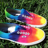 SALE  VANS limited time only Tie Die Vans
