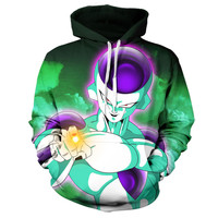 Frieza Dragon Ball Z Hoodie