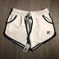 FILA Woman Sports Leisure Shorts