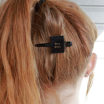 Grunge Hairclips set of 2 clips by vicethighvintage on Etsy