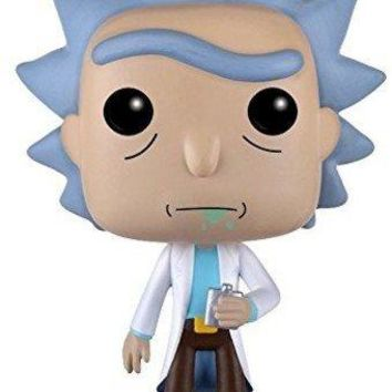 Funko POP Animation: Rick & Morty - Rick Action Figure