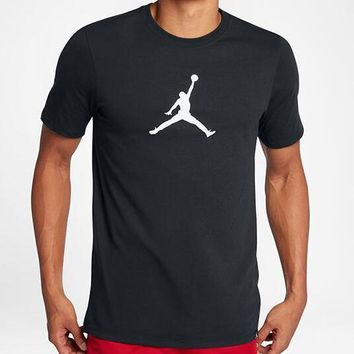 Nike Men Fashion Casual Sports Shirt Top Tee-3