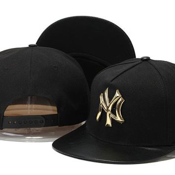 Perfect New York Yankees hats Women Men Embroidery Sports Sun Hat Baseball Cap Hat