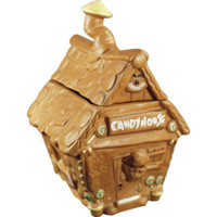 Vintage Candy House Cookie Jar by Twin Winton