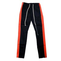 Trackpants in Navy/Red