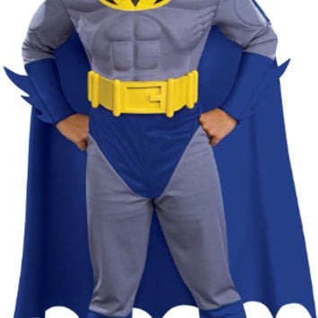 Boy's Costume: Batman Brave Muscle | Medium