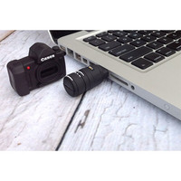 8GB CAMERA SHAPE USB FLASH DRIVE - CANON-Backdrop Outlet
