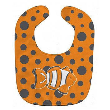 Fish Clown Fish Baby Bib BB8951BIB