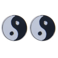 Yin & Yang Earrings | Wet Seal
