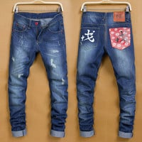 Winter Men Pants Men's Fashion Fashion Korean Jeans [6528534787]