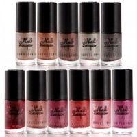 11 COLORS NAIL ART GLITTER MATTE FROSTED NAIL POLISH VANISH #06 - Fräulein3°8