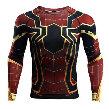 Spider-man Infinity War Compression Top