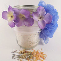 Bath Soak, Goat milk bath soak, milk bath soak, oatmeal bath soak, lavender bath soak, chamomile bath soak, natural bath soak,