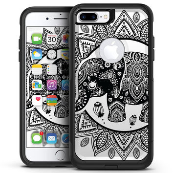 Indian Mandala Elephant - iPhone 7 or 7 Plus Commuter Case Skin Kit