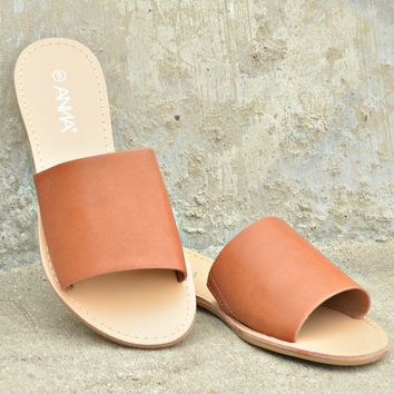 Rumor Has It Sandals - Cognac