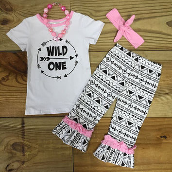 """Wild One"" Aztec Arrow Outfit"