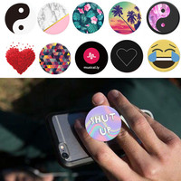 Hot Finger Holder Pop with Anti-fall Phone Smartphone Desk stand Grip Socket Mount For Apple iphone Samsung Xiaom huawei
