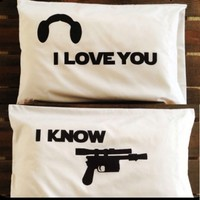 I Love You I Know Pillow Cases