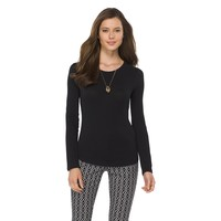 Women's Long Sleeve Layering Tee - Merona