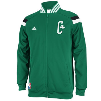 Boston Celtics adidas 2014 On-Court Jacket – Kelly Green