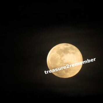 Harvest Autumn Moon Digital Download,Digital download, Art, Photography, Nature