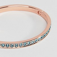 Ted Baker Clemara Turquoise Hinge Crystal Bangle at asos.com