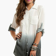 Painters Button Up Blouse $35 (on sale from $50)