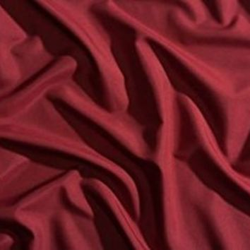 Night Sweats: The Original PeachSkinSheets Moisture Wicking, 1500tc Soft KING Sheet Set DEEP CRIMSON RED