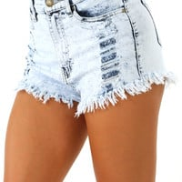 No Ordinary Girl Shorts: Denim