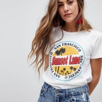 Heartbreak Sunset Lane T Shirt at asos.com