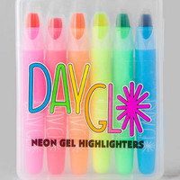 DAY GLO NEON GEL HIGHLIGHTERS