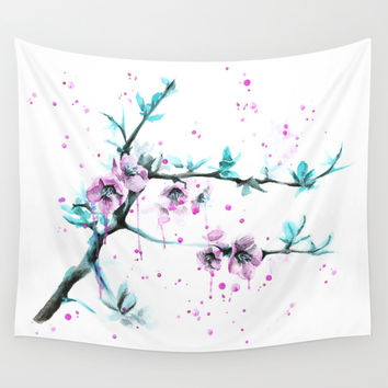 Spring Wall Tapestry by EDrawings38