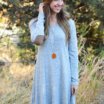 Winter Long Sleeve One Piece Dress [6049266241]