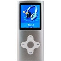"Eclipse 180SL 1.8"" MP3 USB Digital Music, Video Player, Audio Recorder - Silver - Walmart.com"