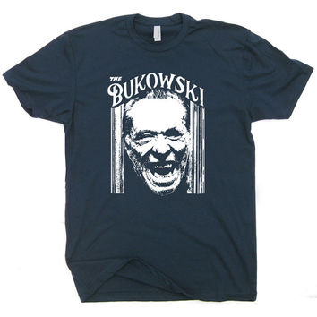 The Charles Bukowski T Shirt The Shining T Shirt Vintage Bukowski Quote Literary T Shirt Hank Beat Poetry Hipster Cool Writer T Shirt