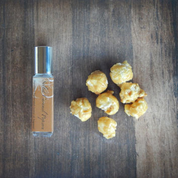 Salted Caramel Popcorn - Roll On Perfume Oil  - 8mL