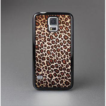 The Vibrant Cheetah Animal Print V3 Skin-Sert Case for the Samsung Galaxy S5