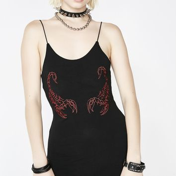 OG Scorpion Mini Dress