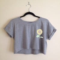 Janelle Sunflower Top
